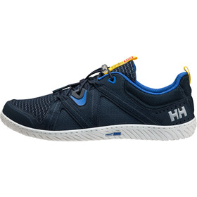 Helly Hansen HP Foil F1 Shoes Men, navy/olympian blue/off white/neon yellow/antique silver met.